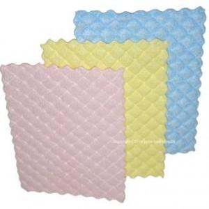 3er Set Microfaser Schwammtücher