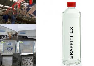 Graffiti Ex, Farb Ex, Lack Ex, Graffiti Entferner Teer, Ölfarbe, Kunstharzfarbe