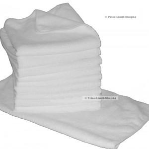 10 x Microfaser Universaltuch Poliertuch Weiss 300g/m²