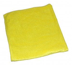 Stretch Universaltuch Gelb 40 x 40cm Microfaser