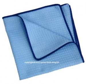 Microfaser 3D Power Cloth Tuch Universaltuch Blau/Blau 40x40cm 60%PES/40%PA