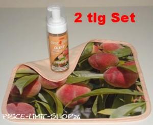 Duft Schaumreiniger Set Zitrone incl. Spezial Microfaser Reinigungstuch mit Motivdruck