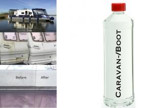 Caravan- Bootreiniger, Reinigungskonzentrat entfernt u.a. Fett