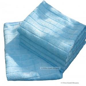 Bodentücher 280g/m² Blau Microfaser 5er Set