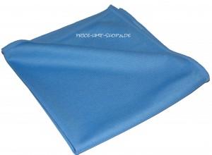 Microfaser Fenstertuch Glastuch Blau 300g/m²